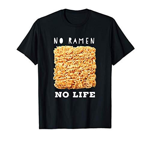 No Ramen No life Tシャツ
