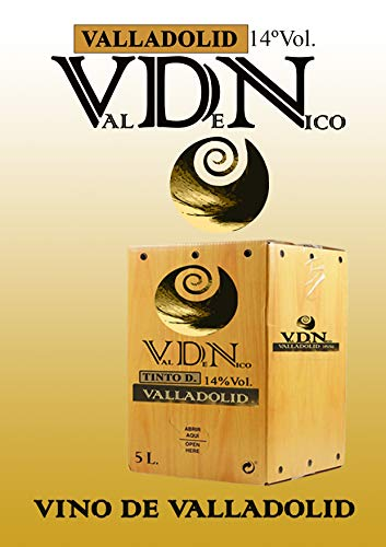 VINO COSECHERO VDN TINTO RD VALLADOLID BAG IN BOX 5L.