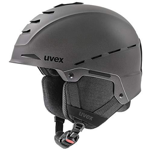 uvex Unisex– Erwachsene Legend Skihelm, Anthracite mat, 59-62 cm