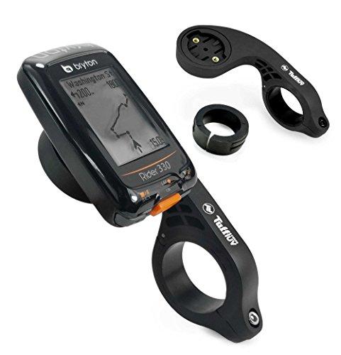 Tuff-Luv Bryton Rider Bike GPS Lenkerhalterung - Schwarz