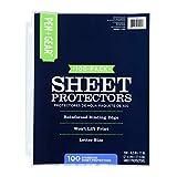 Pen Gear Sheet Protectors 100-Pack