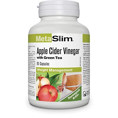Webber Naturals MetaSlim Green Tea Extract & Apple Cider Vinegar
