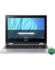 Acer Chromebook Spin 311 (11,6 Zoll HD IPS, MediaTek Octa-Core ARM Cortex A73/A53 (MT8183), 4 GB LPX RAM, 64 GB eMMC, Mali-G72 MP3 GPU, Google Chrome OS) silber, QWERTZ