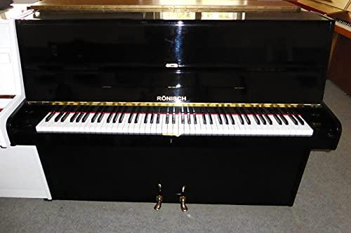 Klavier Marke Rönisch schwarz poliert gebraucht