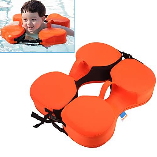 Ourine Flotador de natación para bebés, Conjunto de cinturón de Anillo para el Cuello de natación Collar de Flotador para natación Niños Adultos Safty No Necesita Bomba