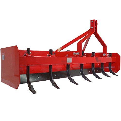 Titan 4' Box Blade Tractor Attachment Category 1 Cat 0...