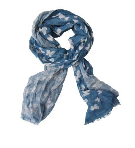 Cornici Unisex - Erwachsene Tuch ARTEMIDE 50130068, Gr. one size, Blau (BLUE/LIGHT BLUE)