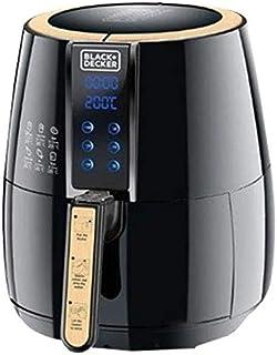 Black+Decker Digital Air Fryer Aerofry, Black, 4 litres, Af400-B5, 2-Year Warranty