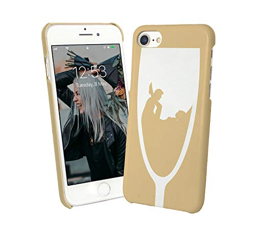 Sexy Champagne After Party_004249 Protective Case Cover Hard Plastic iPhone XS (2018) Funny Gift Christmas For Him For Her