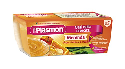 homogenisiert Omogeneizzato Sapori Di Natura Frutta Mista 100 Gr X 4 Pezzi