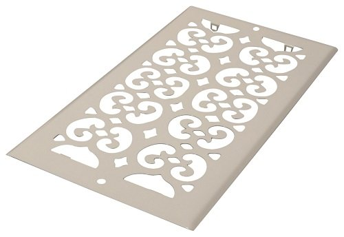 Decor Grates S610R-WH Floor Register, 6-Inch by 10-Inch, White