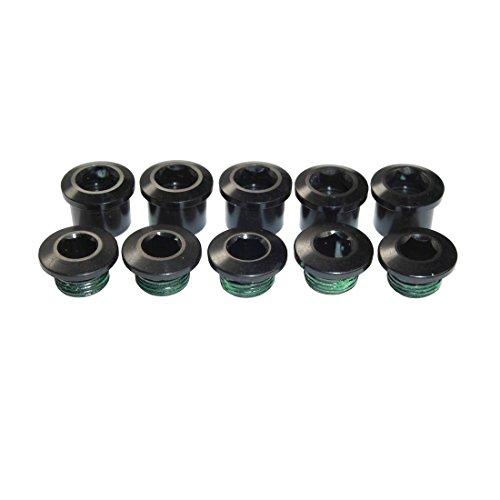 SRAM Omnium Single-Ring Alloy Chainring Bolts Black