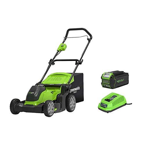 Greenworks Tools G40Lm41K440V 40cm Tondeuse à Gazon, 144W, 40V