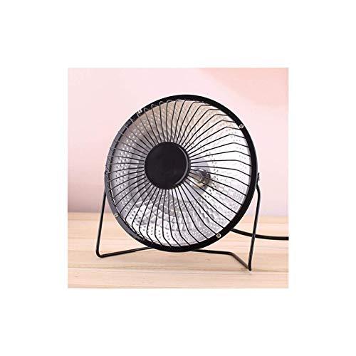 Calentador eléctrico, Calentador de ventilador Mini Hogar Calentador infrarrojo 220V 220W Calentador de aire eléctrico portátil Portátil Fanático de escritorio para el baño del hogar del invierno (col