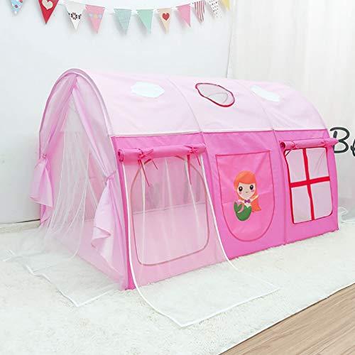 Draagbaar opvouwbaar Tent voor kinderen, Game huis Prinses Kasteel binnen Tent huis Buiten speelgoed voor kinderen Speel Huis voor kinderen cadeau, Roze