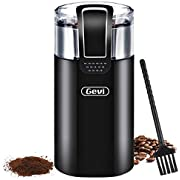 Coffee Grinder Electric Spice Bean Grinding Machine with 120V Powerful Stainless Steel Blade for Dry Spices Nuts, Ground, Grains 8 Cups Large Capacity