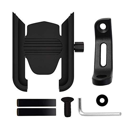 Los dispositivos del soporte del teléfono de la bicicleta, el soporte de aluminio económico no es recargable 360DEG; Rotación, a prueba de golpes y antideslizante Adecuado para instalación de teléfono