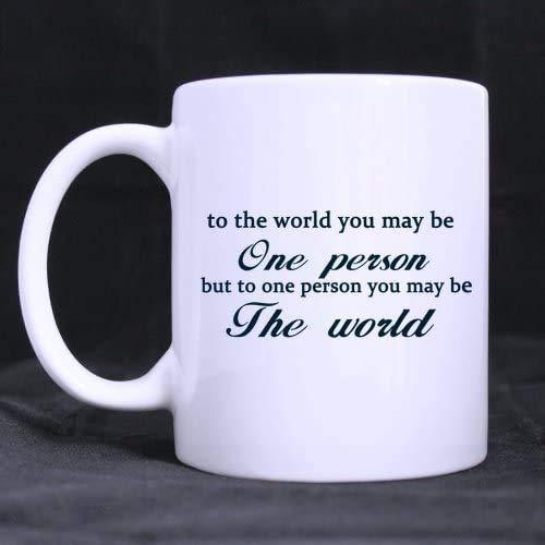 NA Taza de café 11 oz-para Novios/Novias ama Las Citas al Mundo...