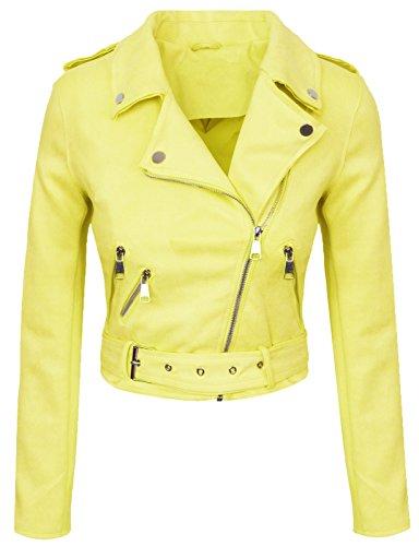 Rok Creek Selection Designer dames overgangsjas suède-look zomerjas korte jas D-315 S-XL