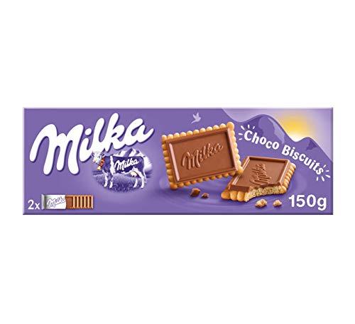 Milka Choco Biscuits Galletas con Chocolate, 150g