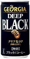 コカ・コーラ ジョージア ディープブラック(185g缶×30本)×3箱