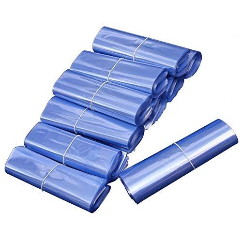 FxsD Plastiktüte schrumpfen Shrink PVC-Beutel-transparenter Plastikfolienschweißschuh Film, Extensibility Hitzebeständigkeit und Dichtung, nicht leicht zu brechen gute Transparenz und wasserdicht Schr