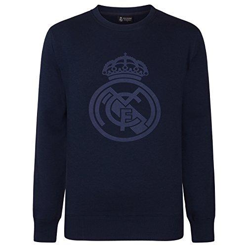 Real Madrid - Sudadera Oficial para niño - con el Escudo del Club