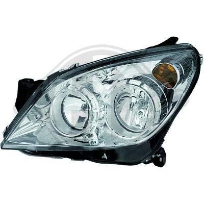 1806183; koplamp links (bestuurderszijde) voor O. Astra H van 2004 tot 2009 originele look