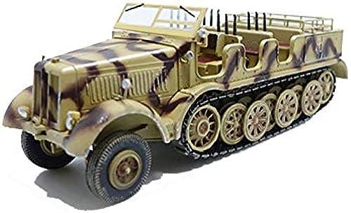 EP-model Modellspielzeug, World War Ii Arms Germany SD.Kfz.8 12-Ton-Halbspur-Modell, Vintage Military Dekorative Souvenirs