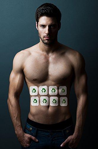 TESMED elettrostimolatore Muscolare Max 7.8 Power - 125 tipologie di trattamenti: Addominali, potenziamento, Aumento Muscolare, estetica, Massaggi