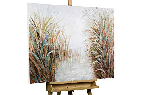 Kunstloft® Cuadro en acrílico 'Vena de la Naturaleza' 100x75cm   Original Pintura...