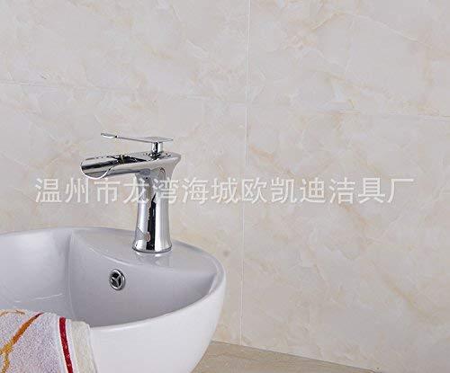 Waterkraan met één gat voor sanitair, van koper, ultradun, met brede opening, 170 x 160 x 60 cm 170 * 160 * 60