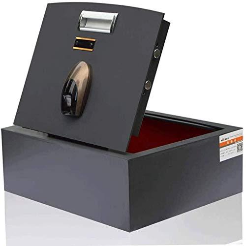 WYFX Caja de Seguridad Digital electrónica, Caja de Seguridad, Caja de Seguridad, gabinete de Seguridad para Oficina en casa, Caja de Seguridad para Efectivo, Joyas, Objetos de Valor,