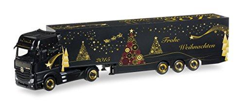 herpa 305051 - Mercedes-Benz Actros Gigaspace Schmitz Koffer-Sattelzug, Miniaturmodelle