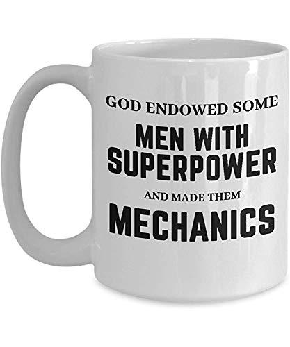 Ceramic Mug Mechanik; Einzigartige Keramik Individuell Bedruckte Beruf Aussage Cup Od Fand Einige Der Süßesten Frauen Und Machte Sie Mechaniker Reat GIF Kaffeetasse Vorhanden Kaffeetasse Geschenk