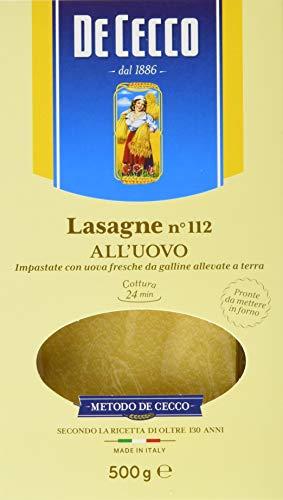 De Cecco Ital. Lasagne, 6er Pack (6 x 500 g)