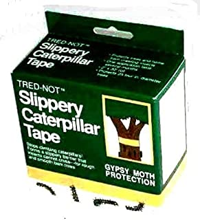 Gypsy Moth/Oakworm Caterpillar Tree Band Barrier Tape Protection