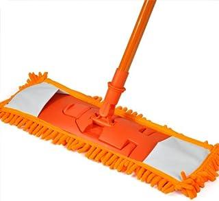 Accessotech –Mopa de microfibra extensible para tarima flotante, limpieza en húmedo o seco