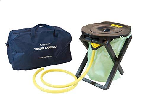 Separett Rescue Camping 25 Portable Urine Separating Toilet
