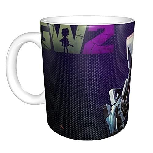 Funny Plants vs zombies tazze tazza di ceramica isolata tazza di caffè tazza con manico tazze di tè per latte