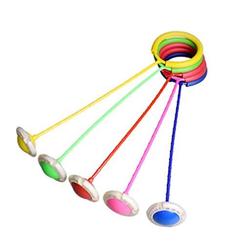 Garneck Blinkt Springen Ring Ankle Überspringen Ball Überspringen Springseil Für Kinder Licht Up Schaukel Ball Ankle Spielzeug Skipper Springen Spiel Übung Fitness Outdoor Spielzeug