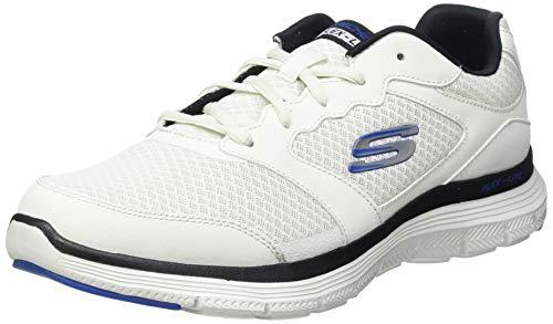 Skechers Flex Advantage 4.0, Zapatillas para Caminar Hombre, WBK, 39 EU
