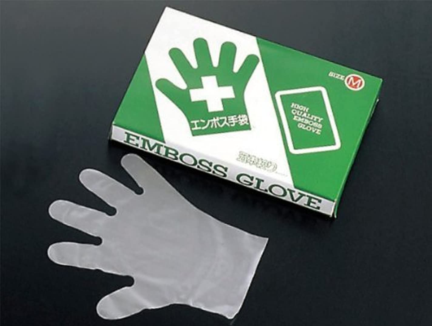 伝統的切るダイヤルエコノミー 手袋 #28 化粧箱(五本絞り)200枚入 M(外)27μ