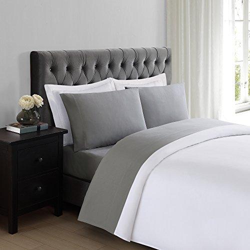 Truly Soft Everyday Grey Twin Sheet Set