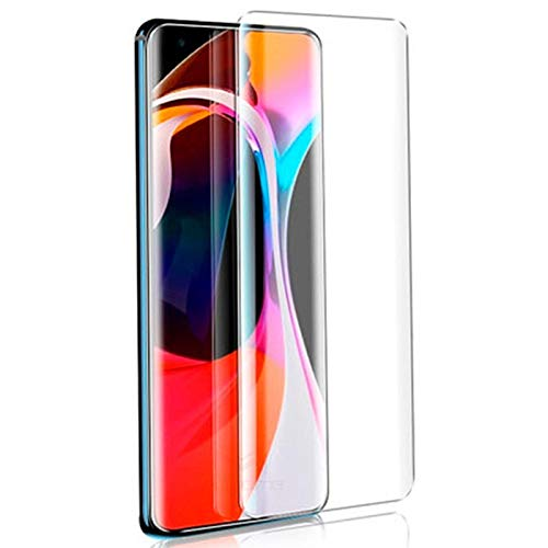 SHEEL GROW ™ Tempered Glass Screen Protector Guard (Front) with 100% Optical Resolution, Hammerproof Scratch Resistant for Xiaomi Mi 10 Pro (Trink Glass) Comes with Installation kit.(Pack of 1)