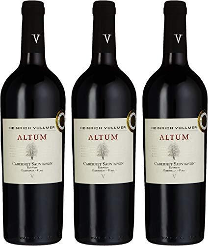 Heinrich Vollmer Altum Cabernet-Sauvignon Weingut 2010 (3 x 0.75 l)