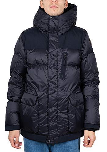 Parajumpers Seiji Man Hooded Down Jacket PMJCK EN02 710 XL Blu