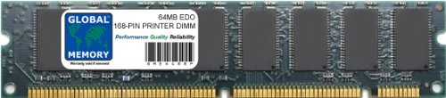 64MB EDO 168-PIN DIMM MEMORY FOR PRINTERS (ZMC64E, SHARP-64MB-EDO-D, C6258A, XEROX-64MB-EDO-D)