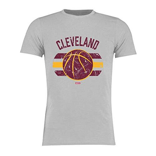 BRAYCE® Cleveland T-Shirt I Basketball Shirt Größe S - 3XL I Basketballkleidung für Basketballspieler und Fans (S)