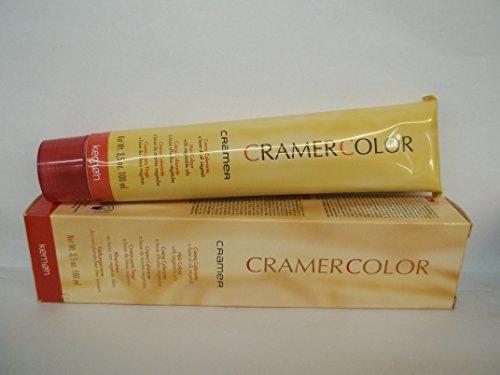 Original Kemon Cramer Color - Hair Color Enriched with Vegetable Oils - 3.5 Fl. Oz. Tubes of Hair Color - Shade Selection: 5.41 - Bronze Light Brown